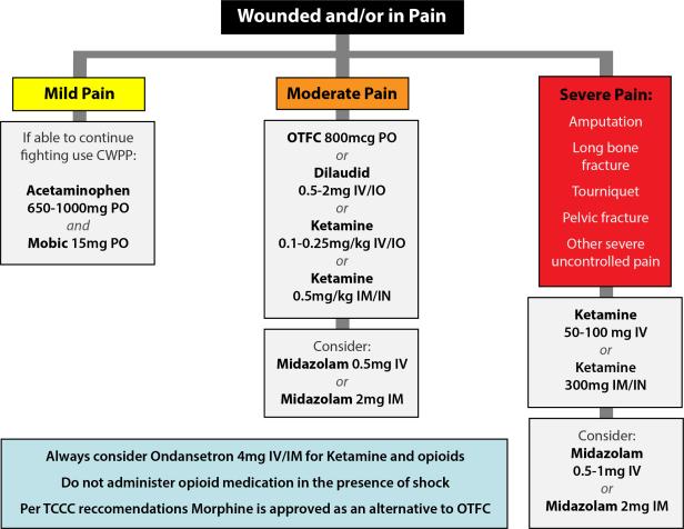 Pain Control Algorithm